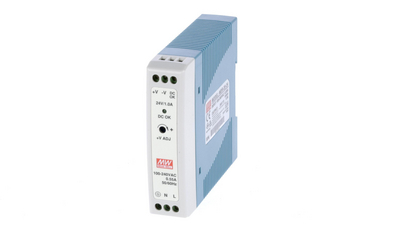 DIN Rail Power Supply, 24V, 1A, 24W, Adjustable Köp {0}