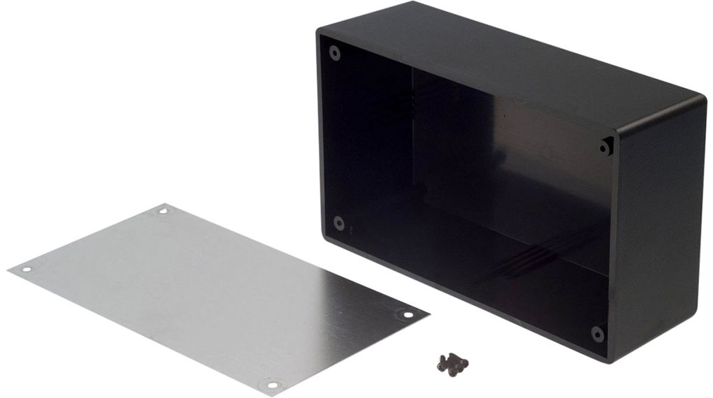 Köp Desktop enclosure Black 151x90x51mm