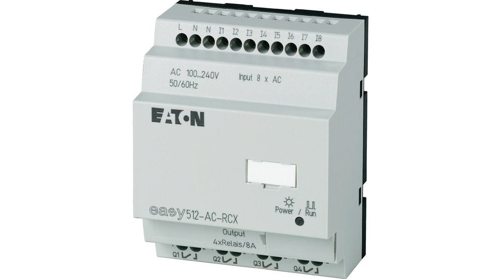 Köp Control Relay Without Display EASY, 8 DI, 4 RO