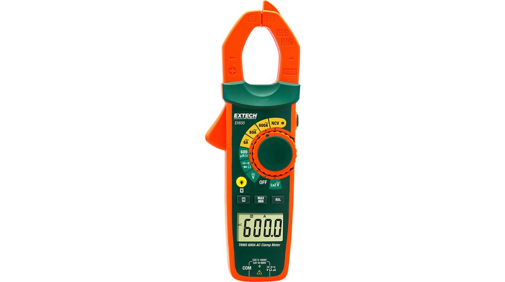 Köp Current clamp meter, 600 AAC, TRMS AC