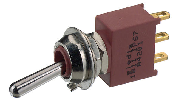 Köp Miniature Toggle Switch, on-on, Soldering Lugs